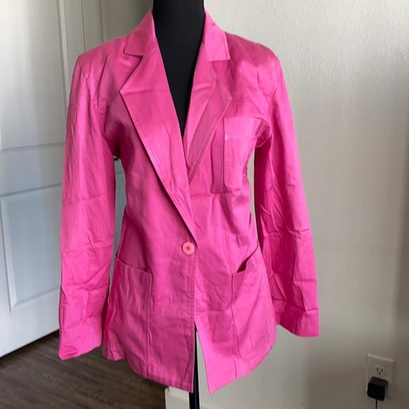 Christian Dior Hot Pink light weight jacket